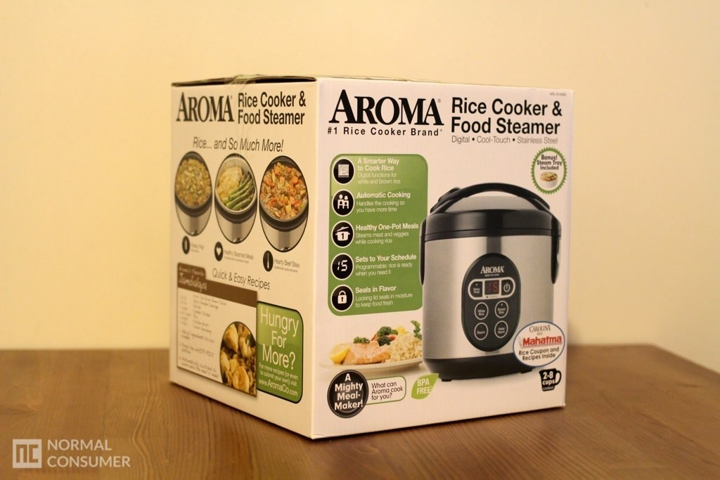 Aroma Digital Rice Cooker and Food Steamer 1