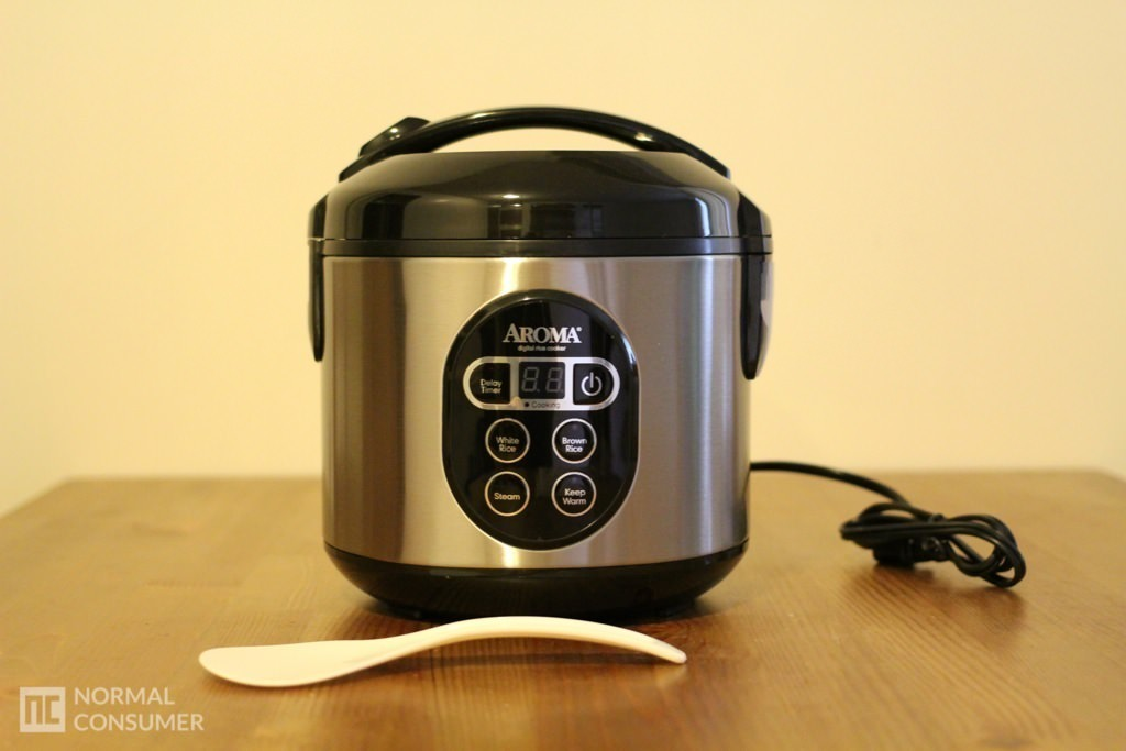 Aroma Digital Rice Cooker and Food Steamer Review