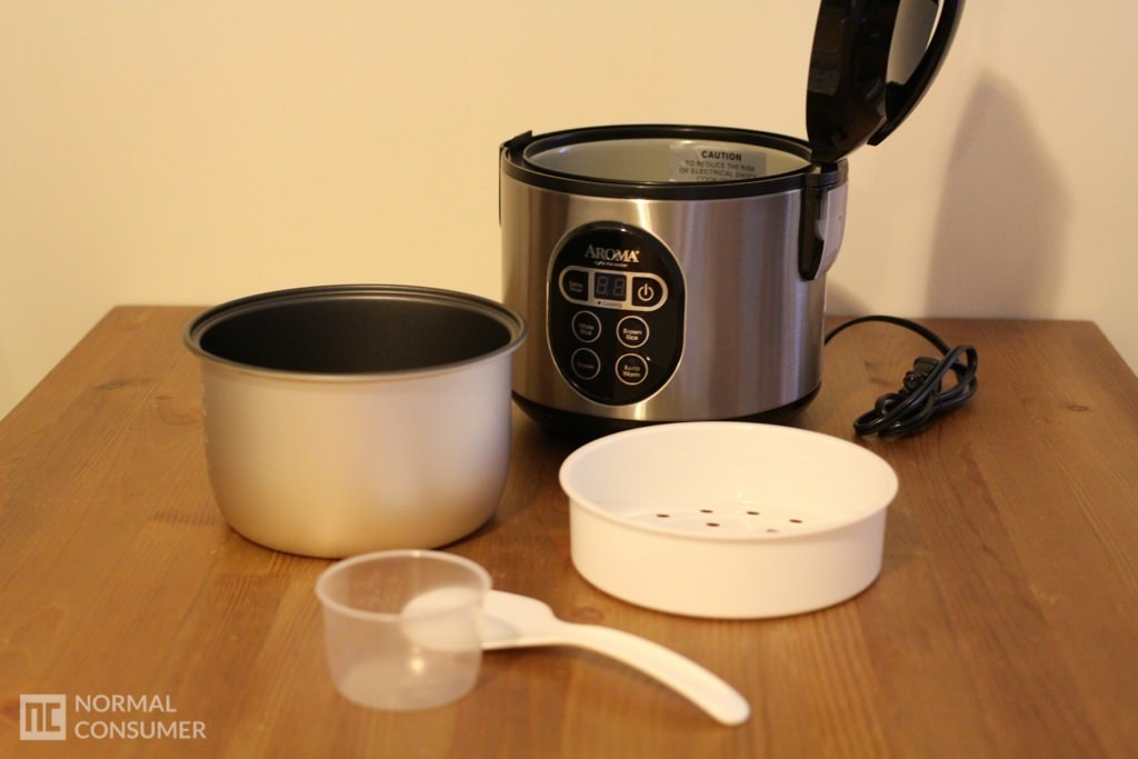 Aroma Digital Rice Cooker and Food Steamer 5