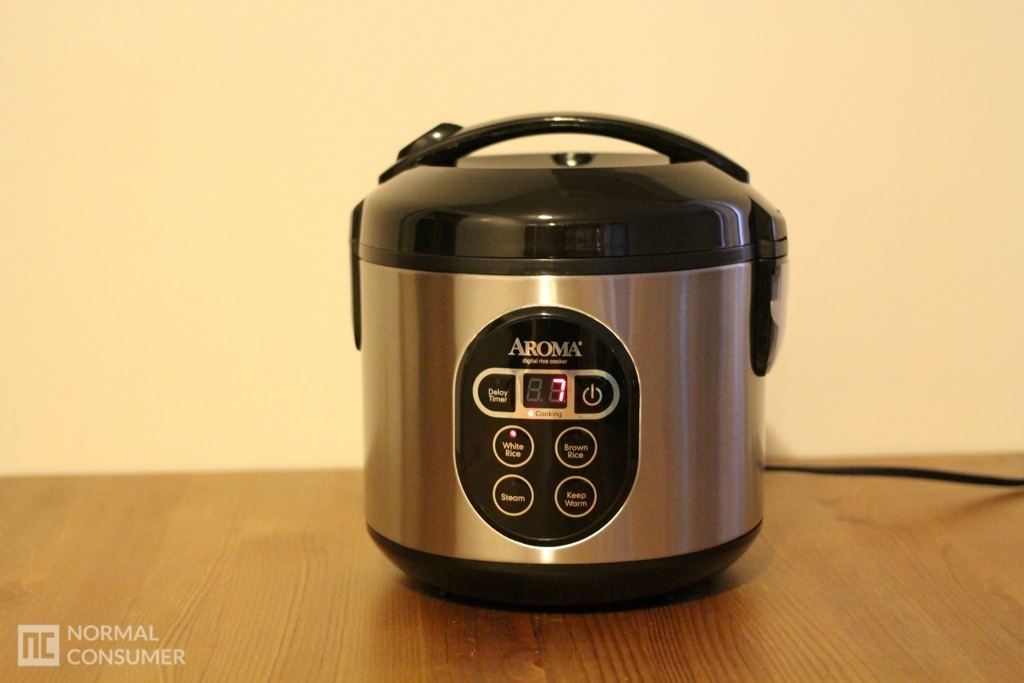 Aroma Digital Rice Cooker and Food Steamer 8
