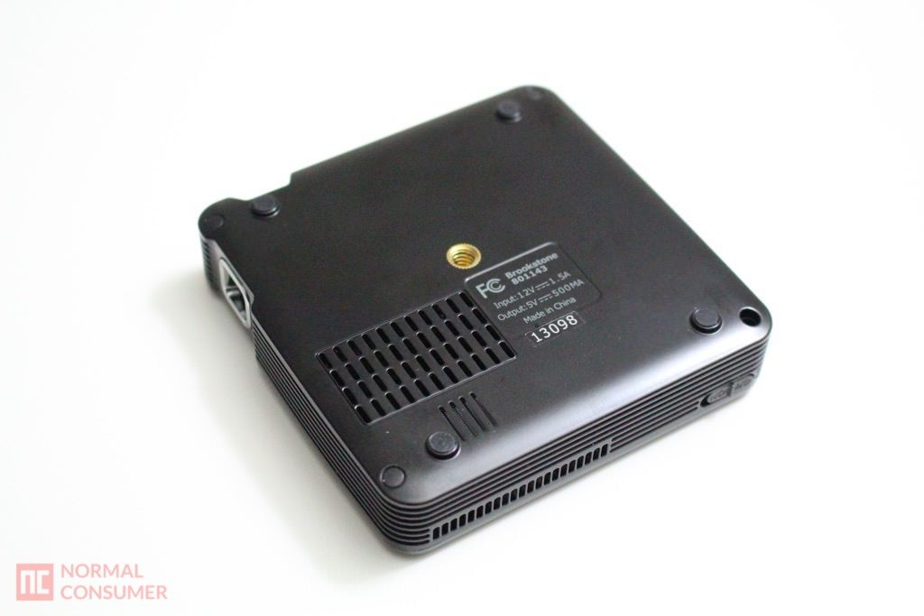 Brookstone Pocket Projector 15