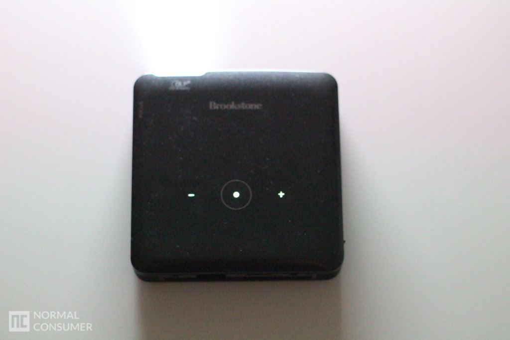 Brookstone Pocket Projector 18