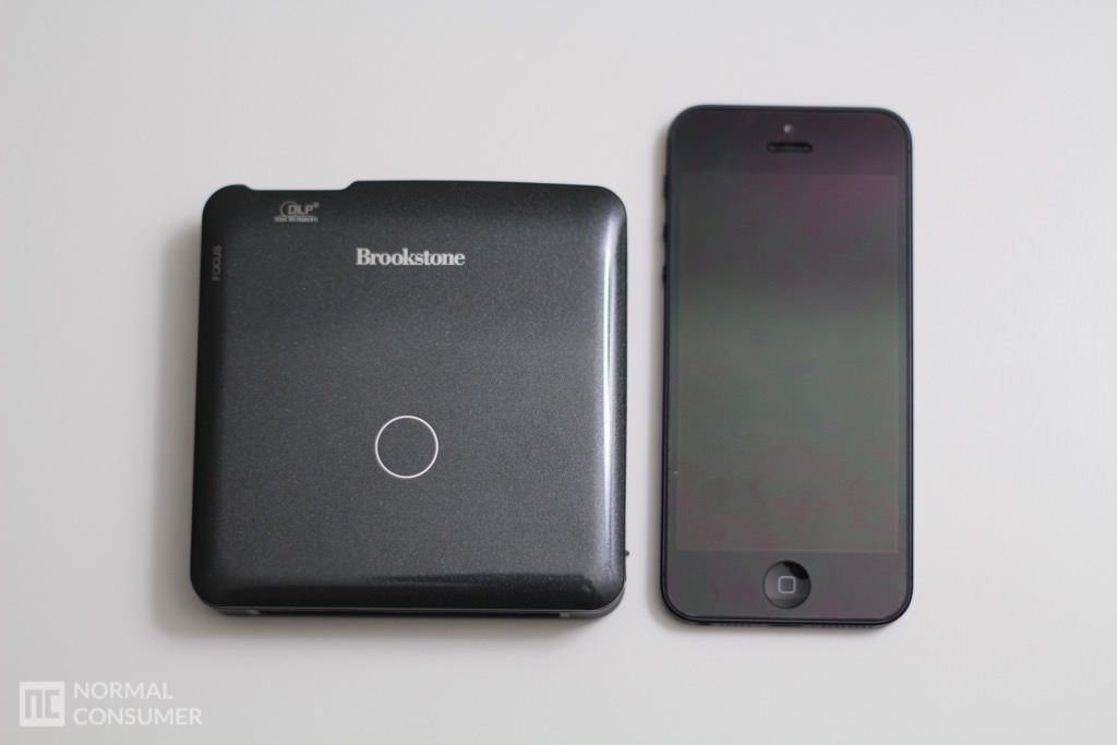 Brookstone Pocket Projector 19