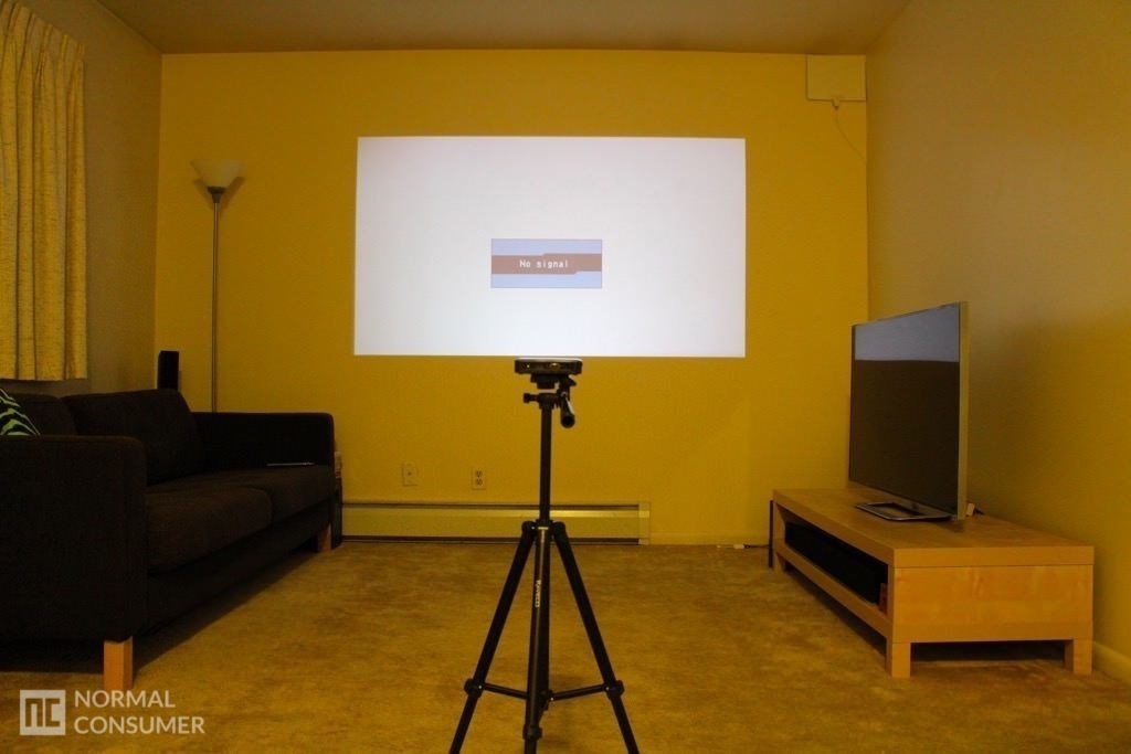 Brookstone Pocket Projector 25