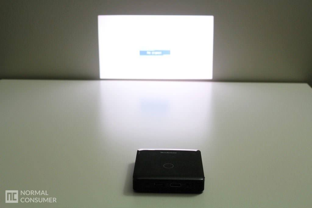 Brookstone Pocket Projector 36