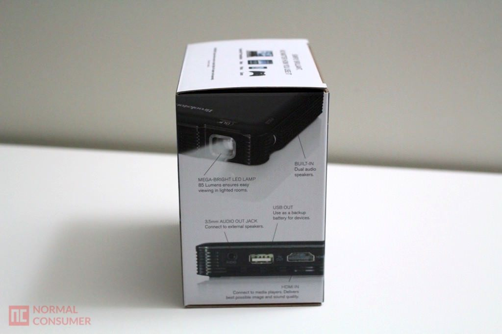 Brookstone Pocket Projector 4