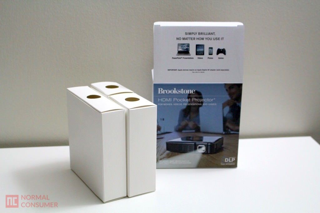 Brookstone Pocket Projector 6