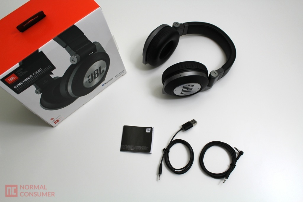 JBL Synchros E50BT Bluetooth Headphone 3