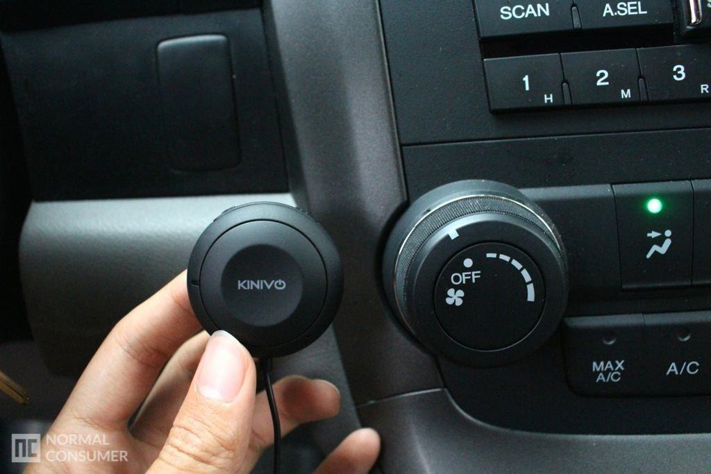 Kinivo BTC450 Bluetooth Hands-Free Car Kit 8