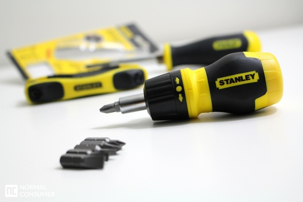 Stanley Stubby Ratcheting MultiBit Screwdriver Review