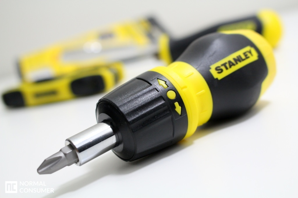 Stanley Stubby Ratcheting MultiBit Screwdriver 5
